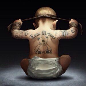Baby Ninja looks cool
